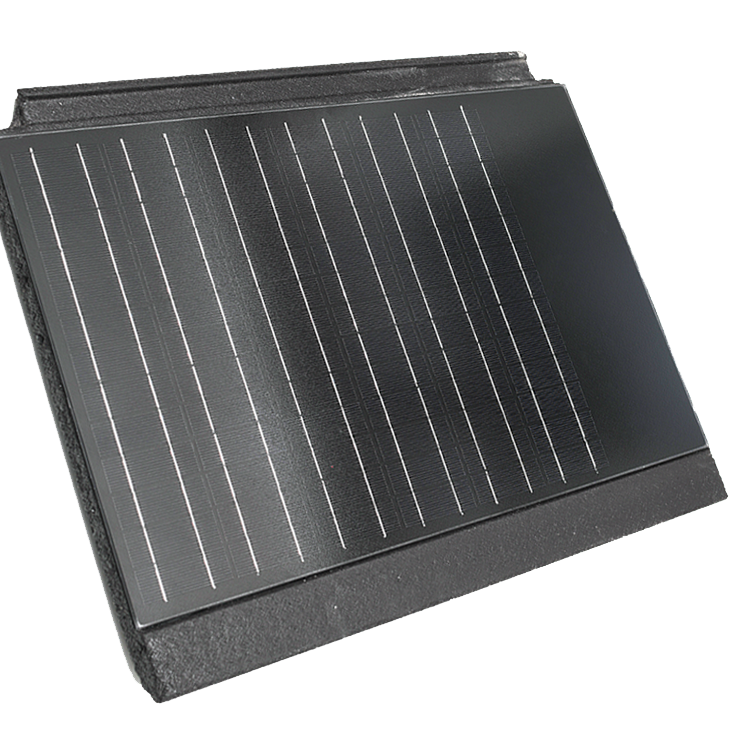 Solpanna med integrerad solcell från Rustabo